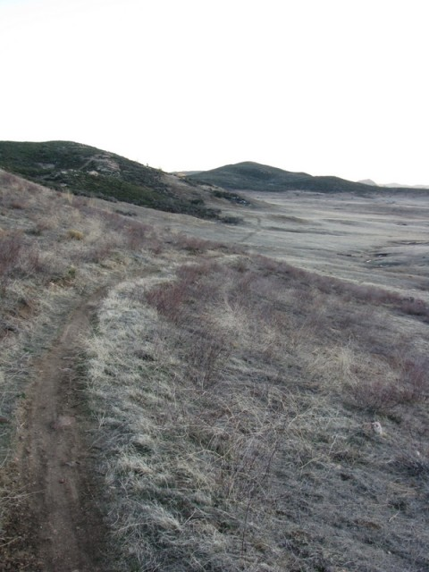 Excellent singletrack near Lake Cuyamaca