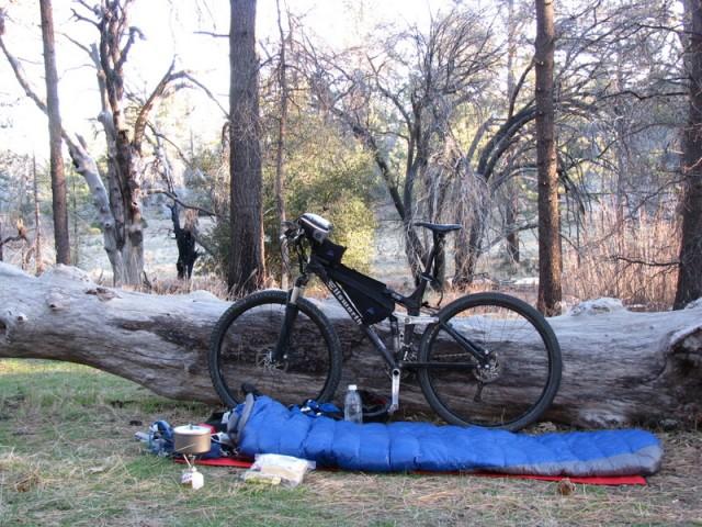 Campsite in Cuyamaca State Park, San Diego, Ca