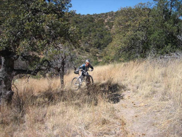 Chris in the Canelo Hills