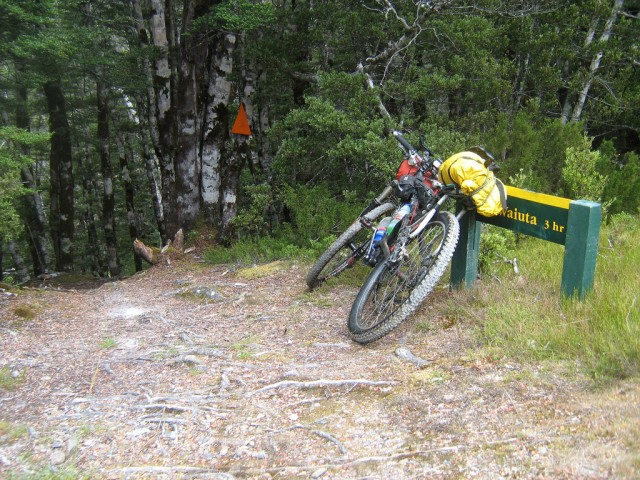 About to get very gnarly in the Waiuta. Kiwi Brevet 2010