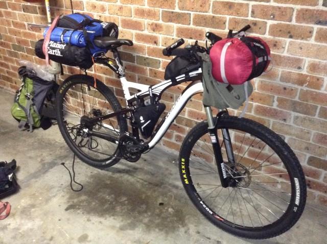 Bikepacking Net Gt Dirt Roads Mtb Touring Gt Setup For