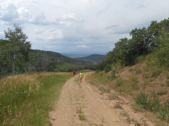 Kathy and Sidney On Hike