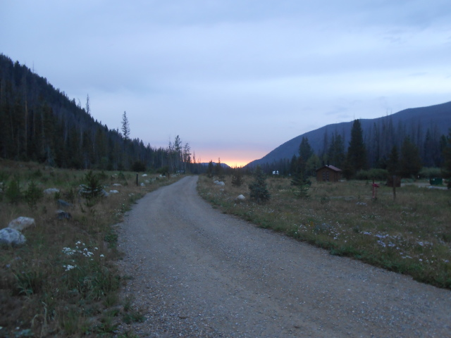 Sunset in Camp 2